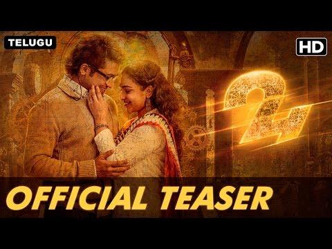 24 - Telugu Movie New Trailer | Suriya,Samantha,Nithya | A.R Rahman