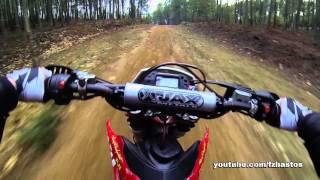 10. Training day wheelies [Husqvarna TE250]