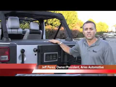 Aries Security Cargo Lid видео