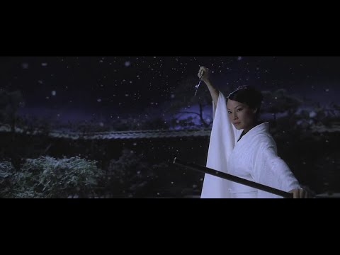 Kill Bill Vol.1 O-Ren Ishii v The Bride (Cotton Mouth v Black Mamba) Fight Scene HD (видео)