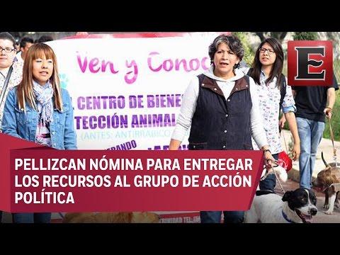 """""""Ordeñan"""" sueldo de trabajadores de Texcoco para destinar a Morena"""