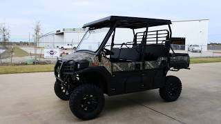 6. $18,699:  2018 Kawasaki Mule Pro FXT EPS Camo with Top, Windshield, Lift, Bumpers, Wheels & tires