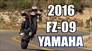 10. 2016 Yamaha FZ09 First Ride and Review