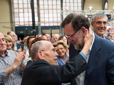 """Rajoy: """"Es el momento de partidos con proyectos, capacidad de gobernar, ideas claras y rumbo fijo"""""""