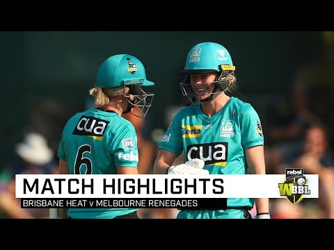Clinical Heat stay on track for back-to-back | Rebel WBBL|05