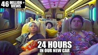 Video GenHalilintar 24 Jam Di Mobill Baru.....Rusuh Tidur Berjamaah MP3, 3GP, MP4, WEBM, AVI, FLV Agustus 2019