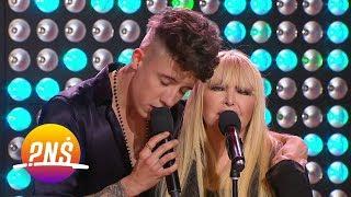 """Lady Gaga i Bradley Cooper w """"polskim"""" wykonaniu w programie PNŚ na żywo"""