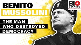 Nonton Benito Mussolini Biography  The Man Who Destroyed Democracy Film Subtitle Indonesia Streaming Movie Download