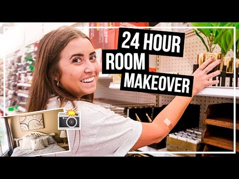24 HOUR ROOM TRANSFORMATION!