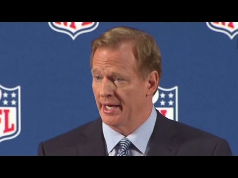 abuse - NFL Commissioner Roger Goodell speaks out on the domestic abuse scandals that have marred professional football's image.