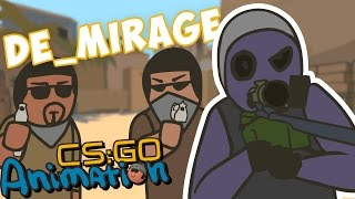 CS Animation. Based on the game, Counter-Strike: Global Offensive.Cartoon parody. Map de_mirage Support: ...