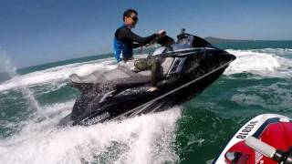 10. 2016 Yamaha FXHO ~ jetski ride New Zealand
