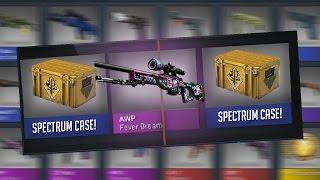 New CS:GO Spectrum Case Opening! AWP Fever Dream!!! The Spectrum Collection