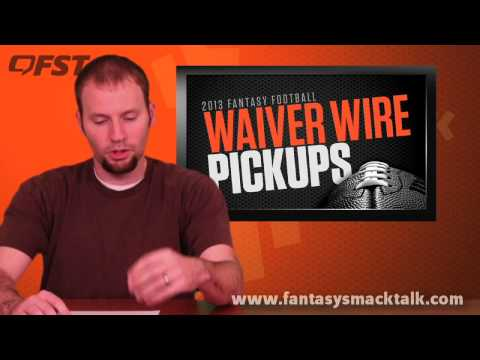 2013 Fantasy Football Waiver Wire Week 14