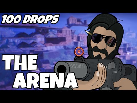 I Dropped The Arena 100 Times And This Is What Happened (Fortnite)