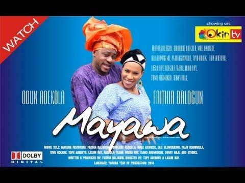 MAYAWA Latest Yoruba Nollywood Romance Movie 2013 Starring Odunlade Adekola and Faithia Balogun