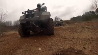 6. OFFROAD ATV Polaris vs CF moto 500