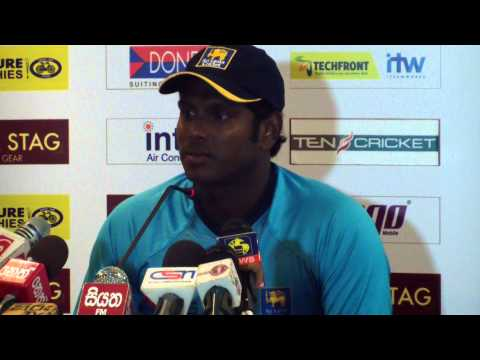 Angelo Mathews previews 3rd ODI at Emirates Old Trafford