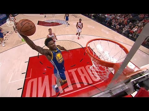 Jordan Bell Blows The Dunk - Shaqtin' A Fool - Game 3 | Warriors Vs Blazers | 2019 NBA Playoffs