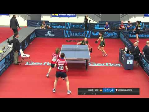 2014 French Junior & Cadet Open - Junior Girls Doubles Semi-Final