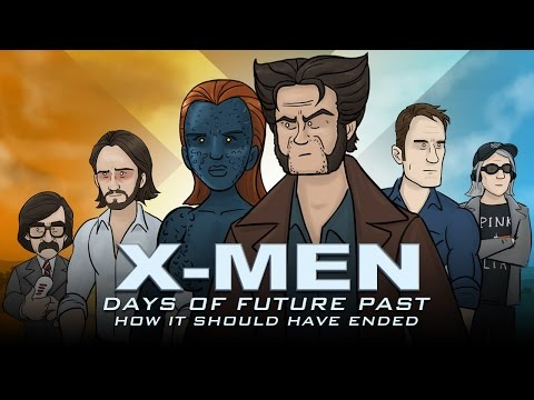 How XMen Days of Future Past Should Have Ended