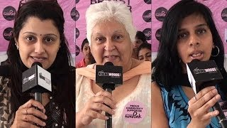 Chennai Turns Pink at Stella Maris College | Breast Cancer Awareness | Sharmila - BW