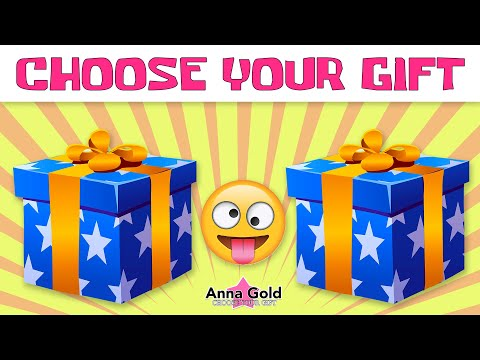 4k CHOOSE YOUR GIFT  🎁   Left or right,  this or that? 💓  Anna Gold