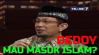 Video DEDY CORBUZIER MAU MASUK ISLAM? TERTARIK DENGAN NAIK HAJI? MP3, 3GP, MP4, WEBM, AVI, FLV Januari 2018