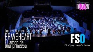 Banda sonora de la película Braveheart interpretada por la Film Symphony Orchestra en el Palau de la Música de Valencia.