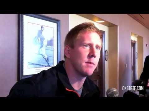 Brandon Weeden Interview 11/28/2011 video.