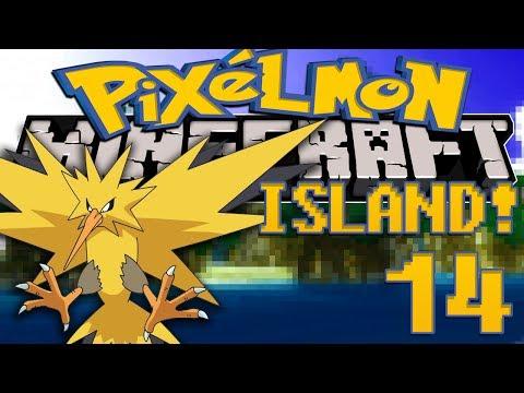 Minecraft: Pixelmon Island (Pokemon Mod) #14 ZAPDOS ORB!