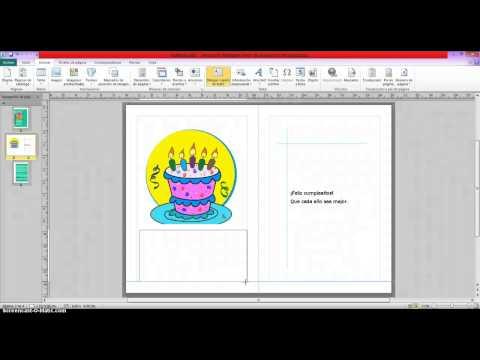Tarjetas de cumpleaños - tarjeta de cumpleaños publisher