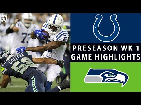 Colts vs. Seahawks Highlights | NFL 2018 Preseason Week 1