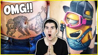 Most Creative Tattoos People Got! (INSANE)
