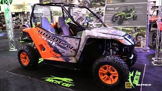 8. 2016 Arctic Cat Wildcat Trail Special Edition Side by Side ATV - Walkaround - 2015 Toronto ATV Show