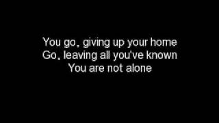 Linkin Park Not Alone lyrics