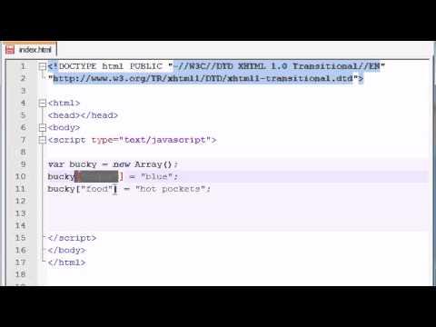JavaScript - Associative Arrays