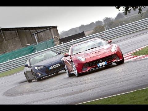 Ferrari F12 Berlinetta vs Toyota GT86 – which is more fun?