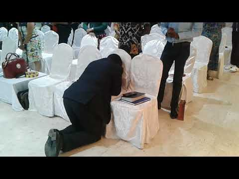 Friday Service -  Abide in Him by DCN Adewale Naiyeju at RCCG Alain City UAE pt2