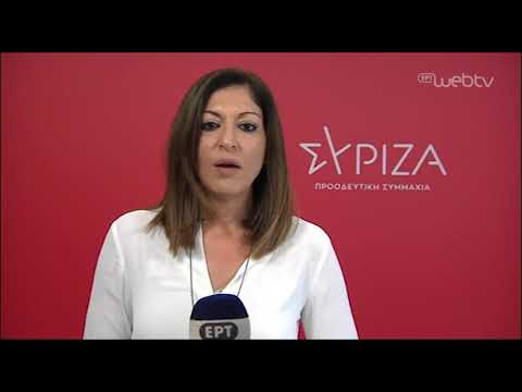 """Τ. Καραγιάννη: """"Η δικηγόρος της οικογένειας Φύσσα απαντά στις αθλιότητες και εκθέτει τη ΝΔ"""""""