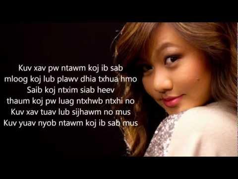 [HD] Kristine Xiong Lub Sijhawm with Lyrics