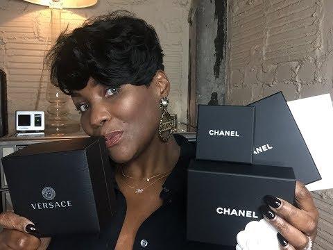 Designer Fashion Jewelry Haul/ FT Chanel, Celine, Versace, Kendra Scott..