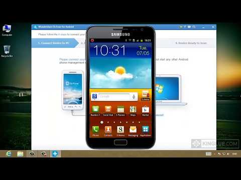how to recover erased pictures from android