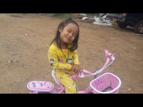 จักรยานใหม่ น้องกิ๊ฟหาย???  น้องกิ๊ฟ /gift story2