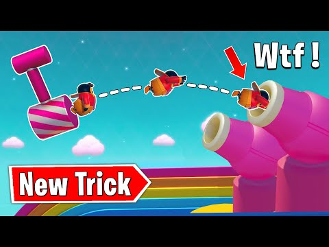 *NEW* YEETUS TRICK - FALL GUYS WTF & Funny Moments & Best Plays #72
