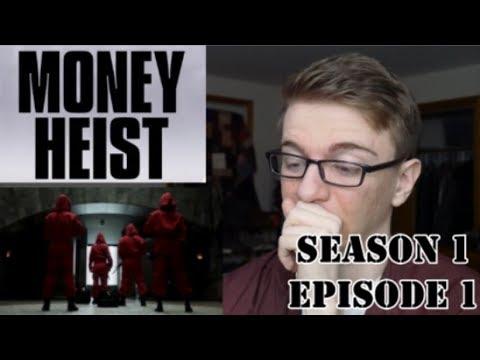 Money Heist Season 1 Episode 1 - REACTION!!