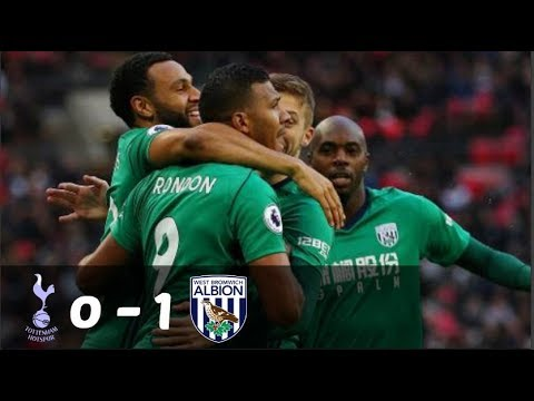 Tottenham vs West Brom ( 0 - 1 ) - All Goals & Extended Highlights - 25/11/17 HD