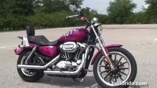 7. Used 2007 Harley Davidson Sportster 1200 Low Motorcycles for sale  - St. Pete Beach
