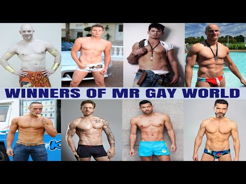See All 8 Handsome Mr Gay World Winners (2009 - 2016) (видео)
