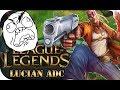 ICH KÖNNTE AUSRASTEN! LUCIAN ADC 🎮 League of Legends Gameplay PowrotTV